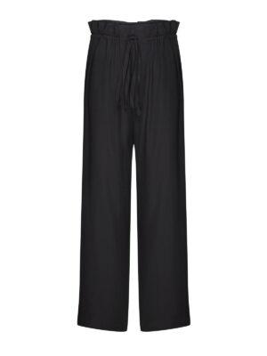 Silk Pyjama Pants in Noire