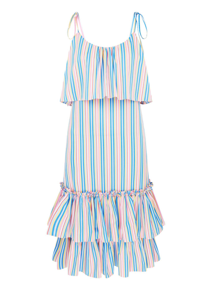La La Lady 010 Rosie Ruffle Dress