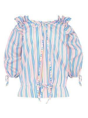 La La 025 Bel Air Pyjama multi stripe