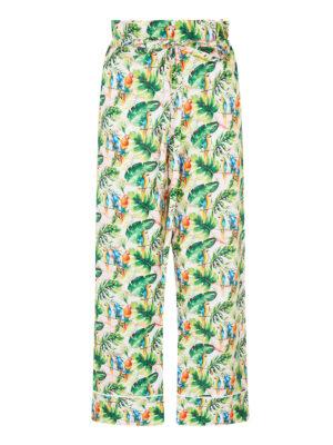 Lala 024 Peggy Pyjama Pants Parrot Print