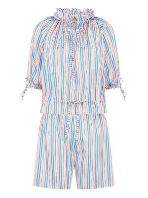 La La 025 Bel Air Pyjama multi stripe LALA 027 Pyjama Pants Shorts