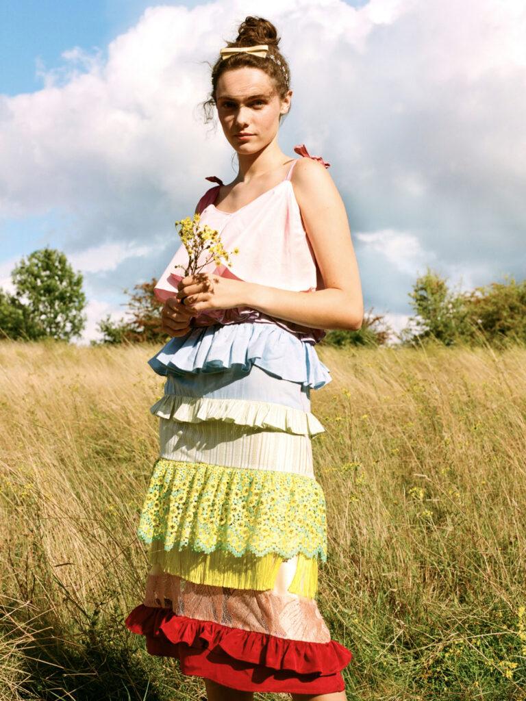 La La Lady Chakra Rainbow dress