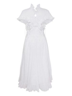 Cafe Society Kimono Dress White