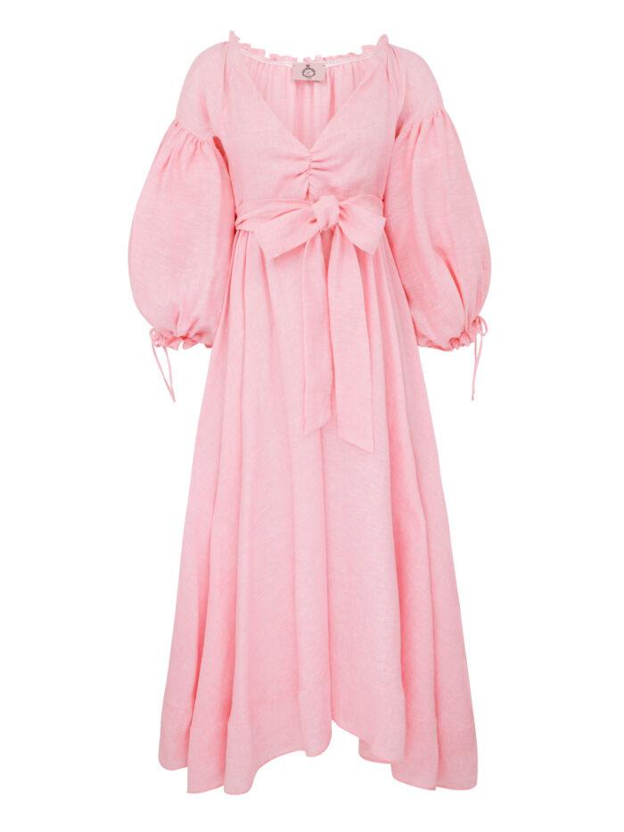 Cafe Society The Countess Dress Peony Pink