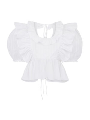Cafe Society Plumsy Top