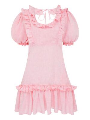 Cafe Society Plumsy Short Dress