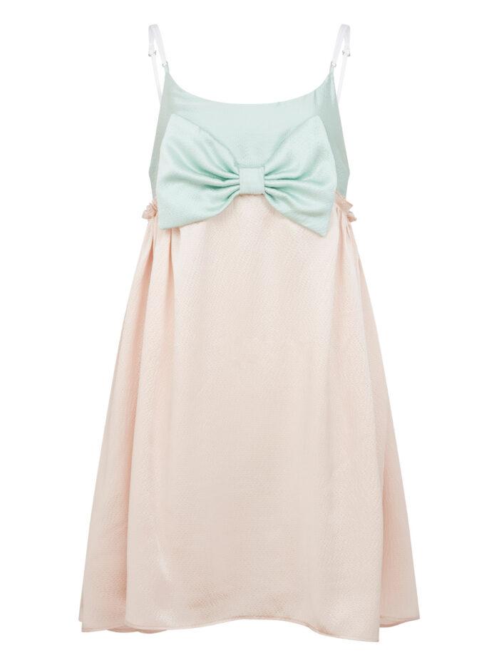 Cafe Society Mini Bow Belle Slip Dress