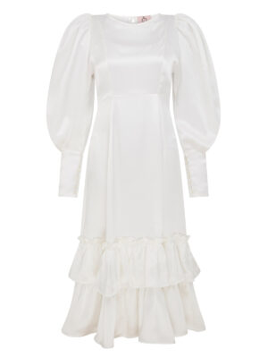 Cafe Society Silk Cloud Dress