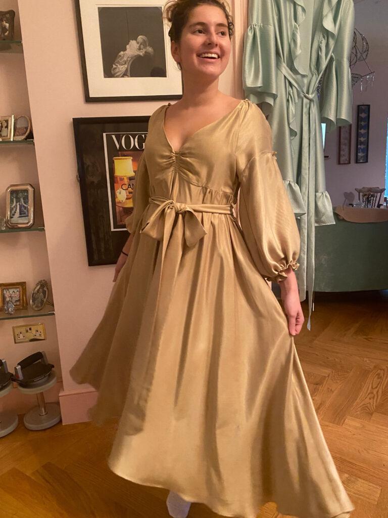 Cafe Society Silk The Countess Dress
